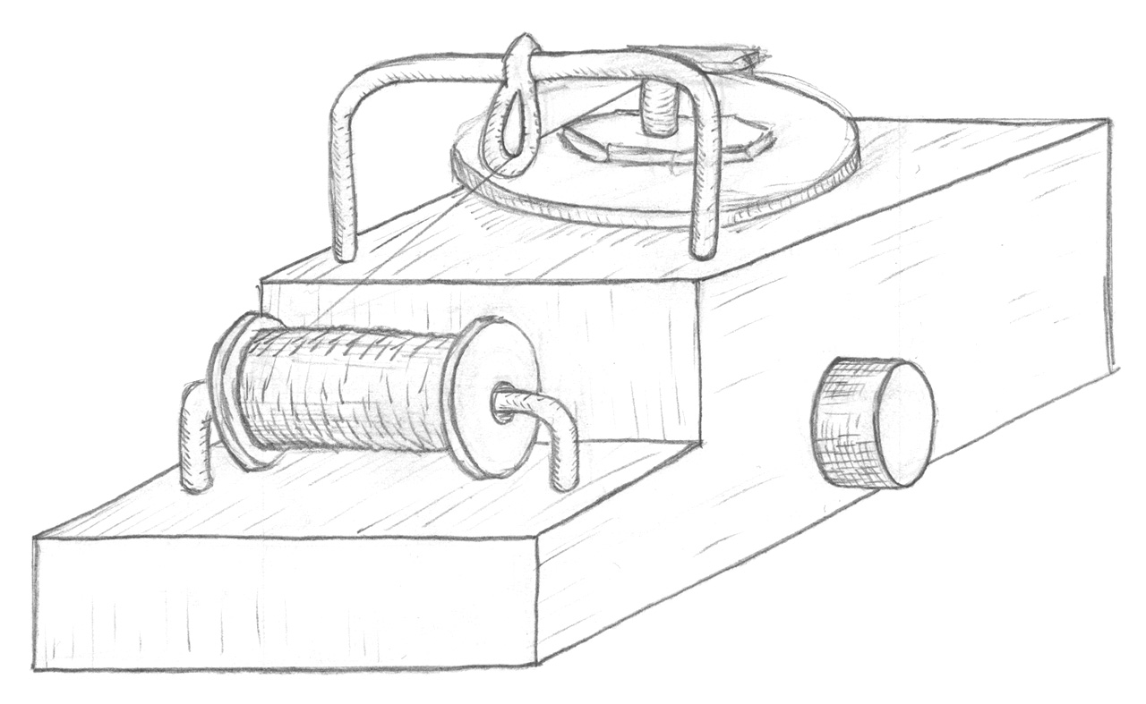 Sketch - Spooling machine v2
