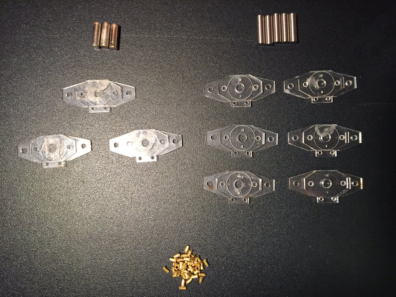 Pickups production - Components